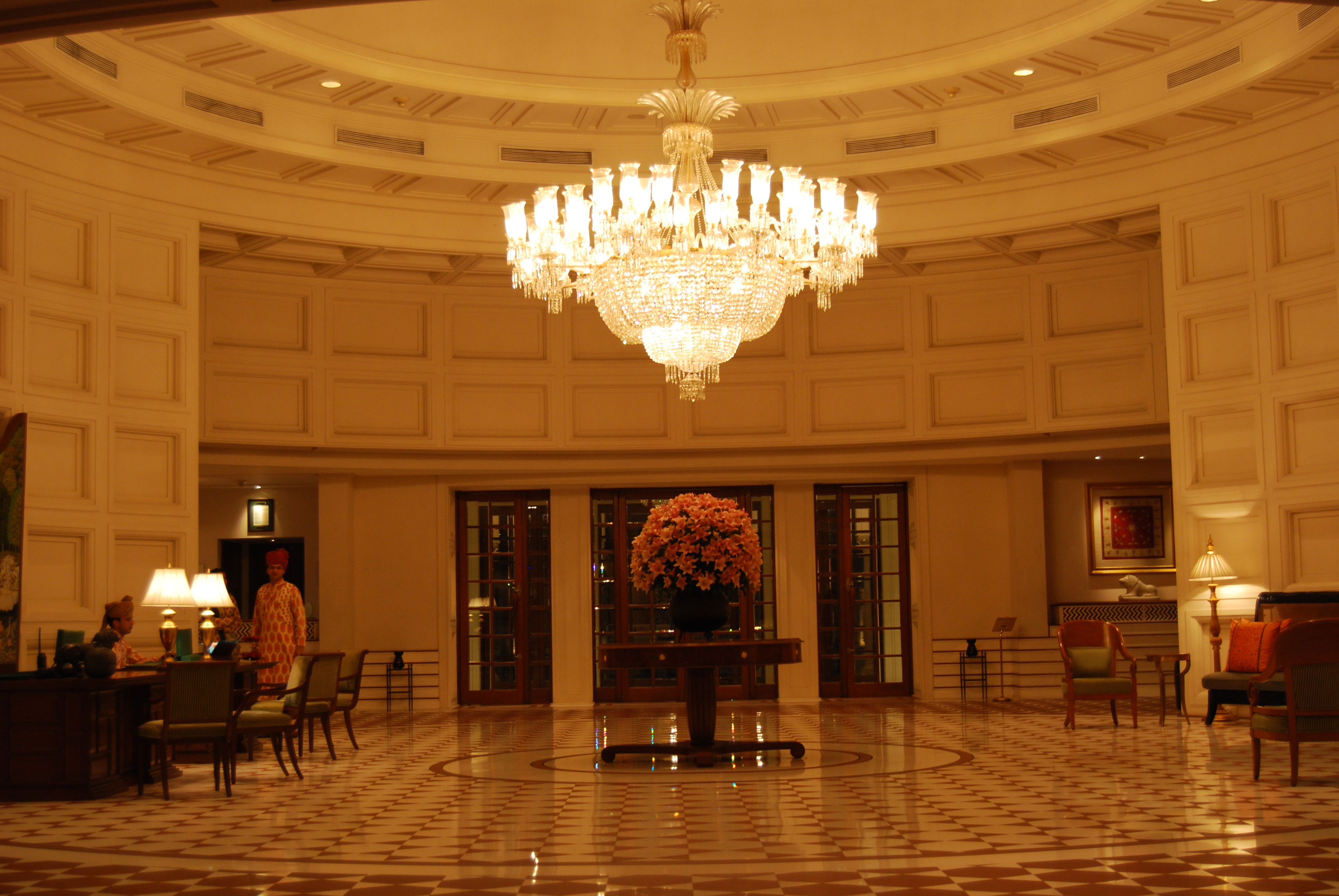 Lobby at The Oberoi Amarvilas, Agra